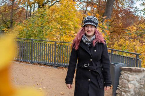 Mütze und Schal schwarz grau