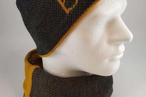 mütze gelbgrün mann